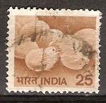 Sellos de Asia - India -  Polluelo de la eclosión del huevo.