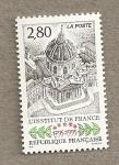 sellos de Europa - Francia -  Instituto de Francia