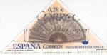 Sellos de Europa - España -  Abanicos  s XIX  Patrimonio  Nacional      (L)