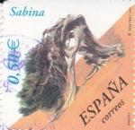 Sellos de Europa - España -  Arboles- Sabina       (L)