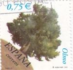 Sellos de Europa - España -  Arboles-Olmo      (L)
