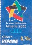 Stamps Spain -  XV Juegos Mediterráneos Almería 2005     (L)
