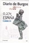 Stamps Spain -  Diario de Burgos        (L)