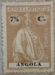 Stamps Portugal -  angola 1914