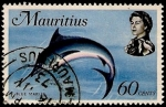Stamps Africa - Mauritius -  BLUE MARLIN