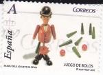 Sellos de Europa - España -  Museu dels Juguets de Denia- JUEGOS DE BOLOS     (L)