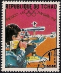 Sellos de Africa - Chad -  OLIMPIADAS MEXICO 68
