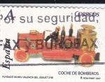 Sellos de Europa - España -  Fundació Museu Valenciá del Joguet- COCHE DE BOMBEROS     (L)