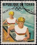 Stamps Africa - Chad -  OLIMPIADAS MEXICO 68