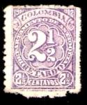 Sellos de America - Colombia -  1901