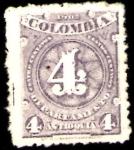 Sellos de America - Colombia -  1902