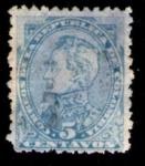 Stamps America - Colombia -  Simon Bolivar1886