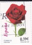 Sellos de Europa - España -  Flora-Rosa    (L)
