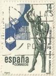 Stamps Spain -  CENTENARIO DE PABLO GARGALLO