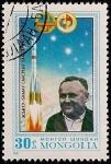 Stamps Mongolia -  Intercosmo
