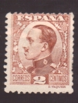 Stamps Spain -  ALFOSO XIII