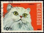 Stamps Nicaragua -  Chinchilla