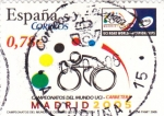 Stamps Spain -  Campeonatos del Mundo uci-carretera      (L)