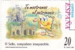 Sellos de Europa - España -  El Sello compañero inseparable-TE MOSTRAMOS EL PATRIMONIO     (L)