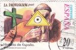 Sellos de Europa - España -  Historia de España- LA INQUISICIÓN        (L)