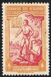 Stamps Ecuador -  MALDONADO SABIO Y PATRIOTA 1748-1948