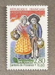 Sellos de Europa - Francia -  Santons de Provence