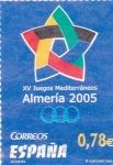 Sellos de Europa - España -  XV Juegos Mediterráneos Almería 2005     (L)