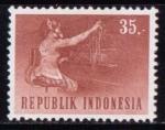 Sellos de Asia - Indonesia -  Centralita telefónica