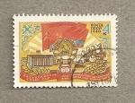 Sellos de Europa - Rusia -  60 Aniv. adhesión Kazakstan a la URSS