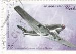 Sellos de America - Cuba -  Aviones de Combate II Guerra Mundial- Messerschmilt ME-109 (Alemán)
