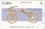 Stamps Cuba -  Retrospectiva de la Bicicleta