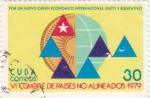 Stamps Cuba -  VI Cumbre de Países no Alineados 1979