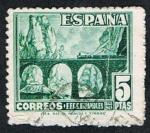 Stamps Spain -  F.F.C.C. ESPAÑOLES