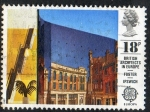 Stamps United Kingdom -  British Architects in Europe