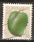 Stamps America - Suriname -  Guanábana.