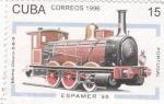 Sellos de America - Cuba -  Espamer-98 Locomotora