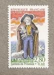 Stamps France -  Santons de Provence