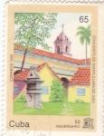 Stamps Cuba -  Convento de Santa Clara de Asís