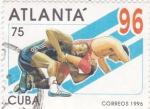 Sellos de America - Cuba -  ATLANTA´96