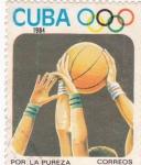 Sellos de America - Cuba -  Por la Pureza y Prestigio del Deporte Mundial