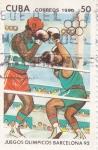 Sellos de America - Cuba -  Juegos Olímpicos -BARCELONA-92
