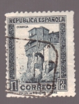 Stamps Spain -  Monumentos- Cuenca