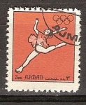 Sellos del Mundo : Asia : Emiratos_Árabes_Unidos : Juegos Olimpicos de Munich 1972.