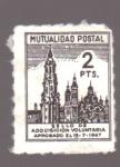 Sellos de Europa - España -  mutualidad postal