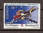 Stamps Spain -  V serie Pre-olimpica.