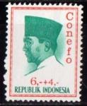 Sellos del Mundo : Asia : Indonesia : A. Sukarno
