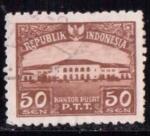 Sellos de Asia - Indonesia -  Oficina central
