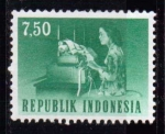Sellos del Mundo : Asia : Indonesia : Oficios