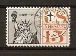 Stamps United States -  Estatua de la Libertad./ Serie Basica.