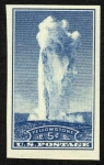Stamps United States -  ESTADOS UNIDOS -    Parque Nacional de Yellowstone